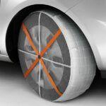 Cadenas de tela para ruedas