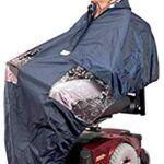 Chubasquero para silla de ruedas electrica