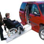 Rampas para sillas de ruedas en vehiculos