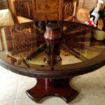 Ruedas antiguas para mesas