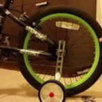 Ruedas auxiliares para bicicleta infantil