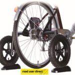 Ruedas auxiliares para bicicletas de adultos
