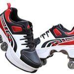 Zapatillas con ruedas para adultos