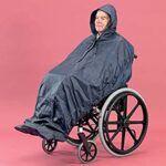 Chubasquero para silla de ruedas