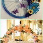 Ruedas de bicicleta para decorar