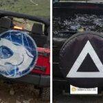 Fundas para ruedas de repuesto personalizadas